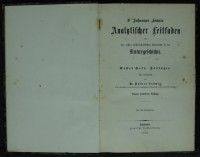 """Leunis/ Ludwig, Analytischer Leitfaden I. Zoologie  Provenance/Rights:  Museumsschule Hiddenhausen (CC BY-NC-SA)"